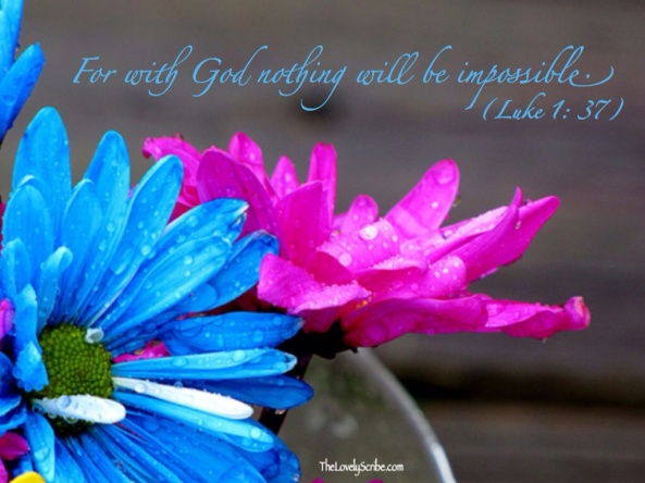 Luke 1: 37