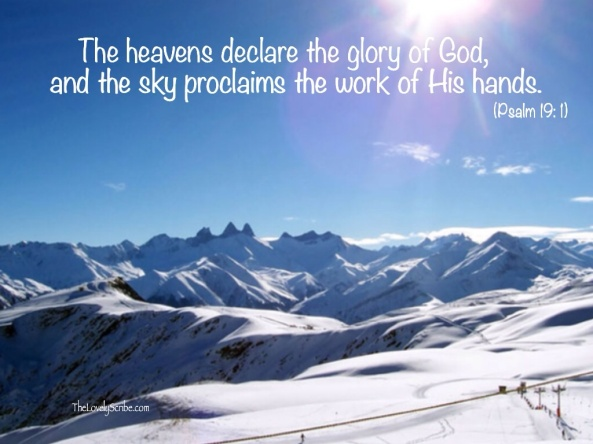 Psalm 19: 1