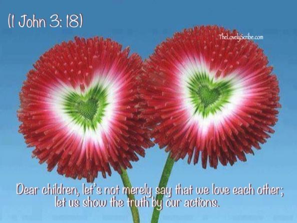 1 John 3: 18