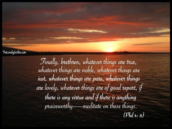Phil 4: 8