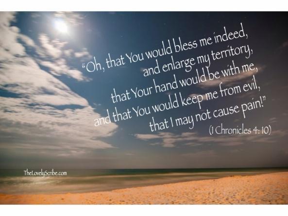 1 Chron 4: 10