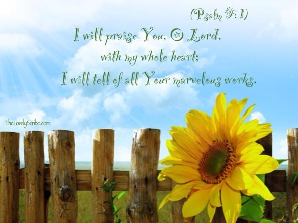 Psalm 9: 1