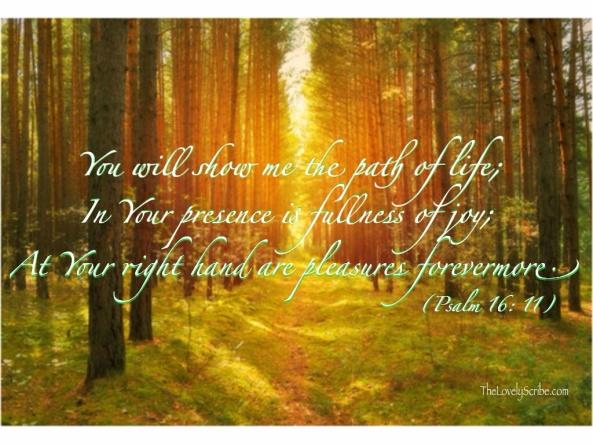Psalm 16: 11