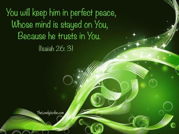 Isaiah 26: 3