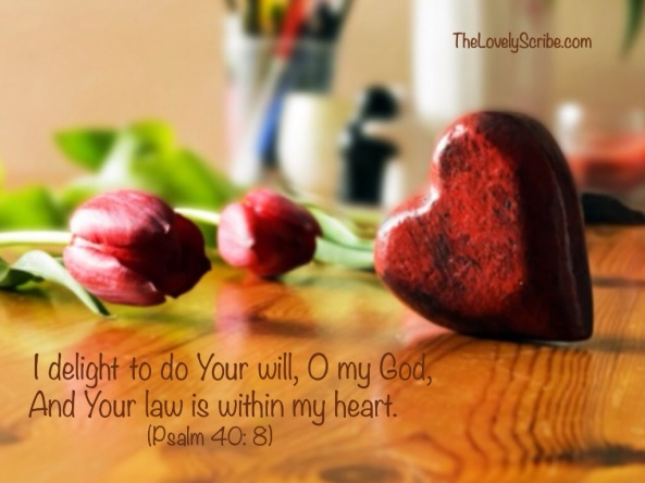 Psalm 40: 8