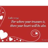 Where your treasure is . . .
